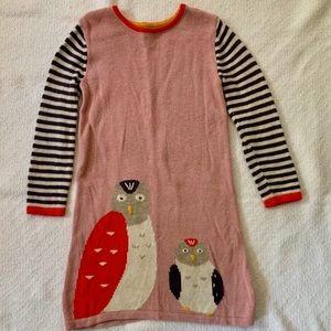 Mini Boden Sweater Dress 3-4Y